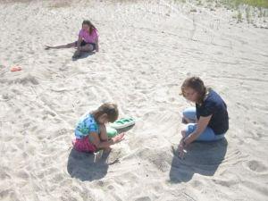 Jag och Döttrarna senaste sommar i mitt Fäbodaparadis...
