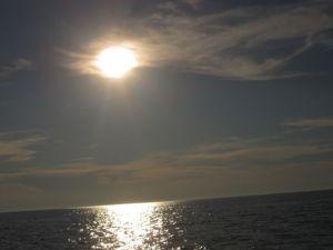 Ute på havet senaste sommar...