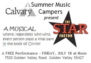 Star Factor e-invite